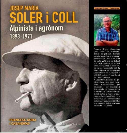 Josep Maria Soler i Coll, alpinista i agrònom (1893-1971)