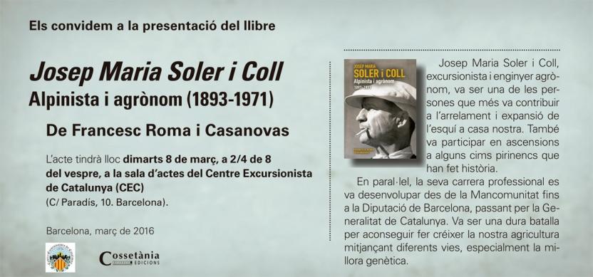 Josep Maria Soler i Coll CEC